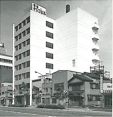 Tsukiji Najico Bldg. (head office building) completed.