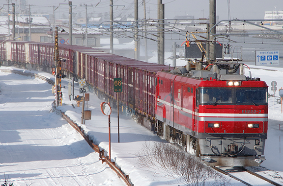 Railway car parts supplied to Japan Freight Railway Company