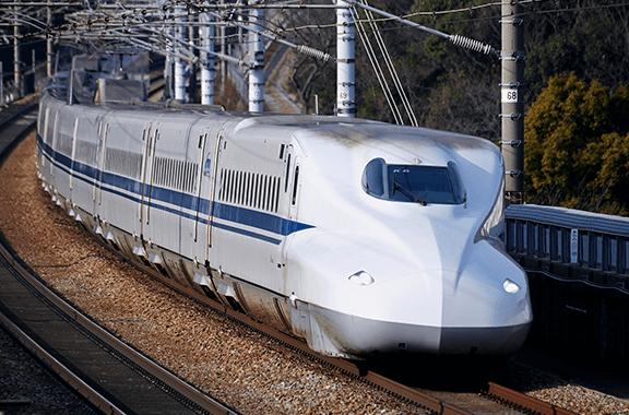 JR東海の新幹線にも部品を納入しています