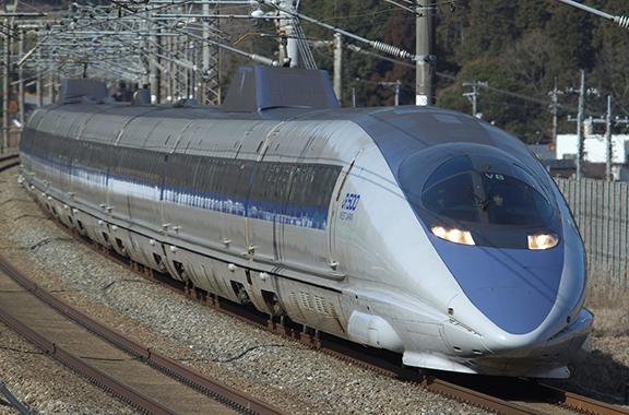 JR西日本の新幹線にも部品を納入しています